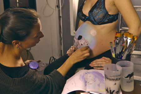 photographe grossesse future maman belly painting marseille IMG 0070